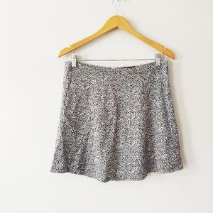 Gap Floral Lined Lightweight Skirt
